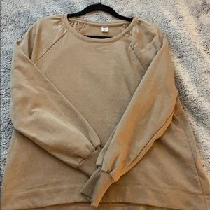 Brown crew sweatshirt